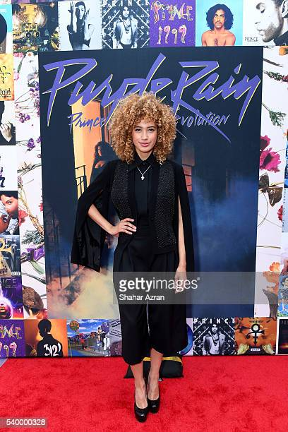 Singer Andy Allo attends Prince Walk of Fame Induction and 2016 Spring Gala at The Apollo Theater on June 13 2016 in New York City