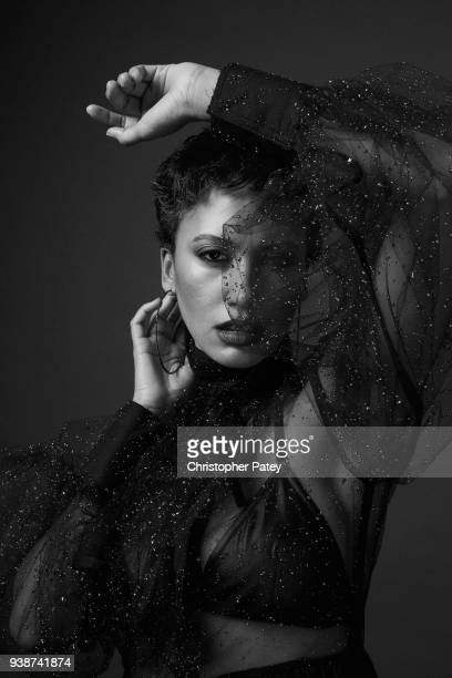 Singer Andy Allo is photographed for The Untitled Magazine on October 27 2017 in Los Angeles California