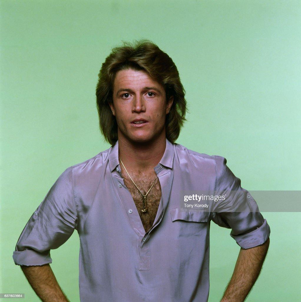 Singer Andy Gibb : Nachrichtenfoto