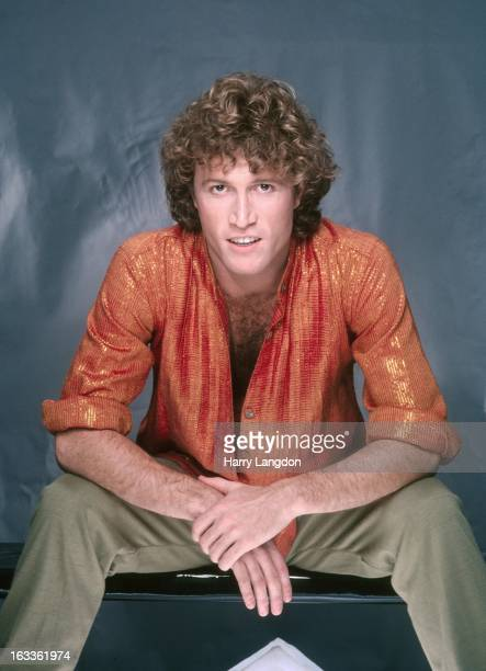 Singer Andy Gibb poses for a portrait 1981 in Los Angeles California