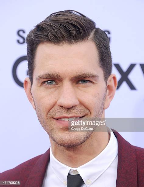 Singer Andy Grammer arrives at the 2015 Billboard Music Awards at MGM Garden Arena on May 17 2015 in Las Vegas Nevada