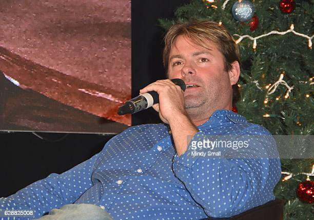 Singer Andy Griggs appears during the Keepin' it Country with Daryle Singletary show during the National Finals Rodeo's Cowboy Christmas at the Las...