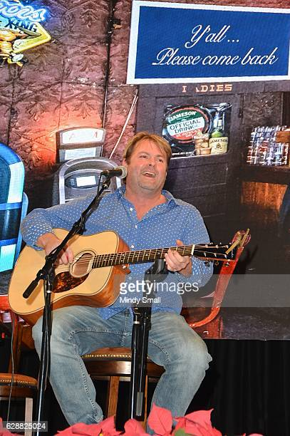 Singer Andy Griggs performs during the Keepin' it Country with Daryle Singletary show during the National Finals Rodeo's Cowboy Christmas at the Las...