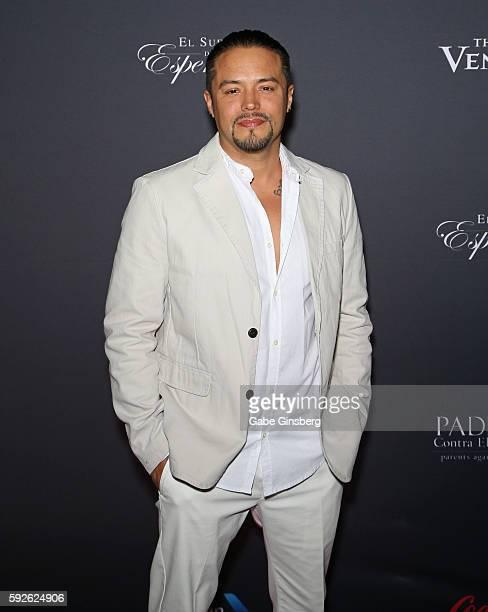Singer Andy Vargas of Santana attends the Padres Contra El Cancer's 16th annual El Sueno de Esperanza celebration at The Venetian Las Vegas on August...