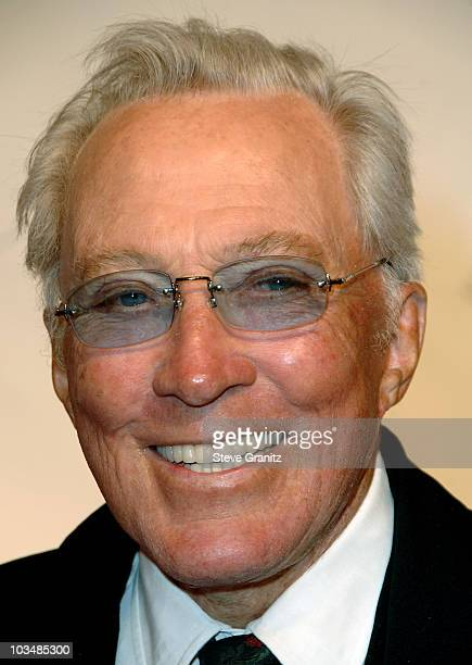 Singer Andy Williams arrives at the 2009 MusiCares Person of the Year Tribute to Neil Diamond at the Los Angeles Convention Center on February 6 2009...