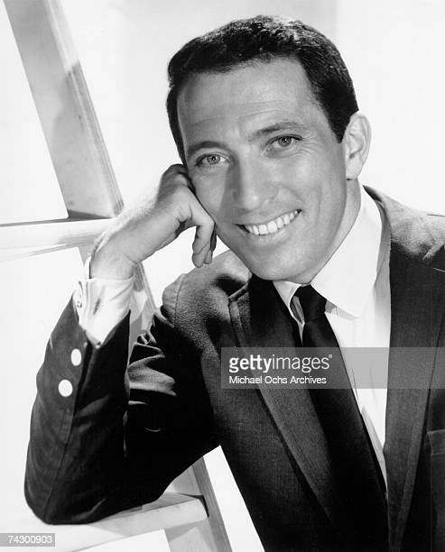 Singer Andy Williams poses for a publicity photo circa 1962