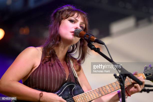 Singer Angel Olsen performs onstage during the 2017 Panorama Music Festival Day 3 at Randall's Island on July 30 2017 in New York City