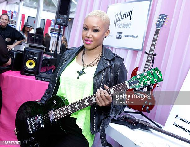 Singer Angel Taylor attends GRAMMY Gift Lounge during The 54th Annual GRAMMY Awards at Staples Center on February 11 2012 in Los Angeles California