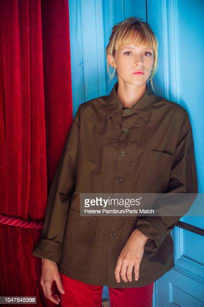 Singer Angele aka Angele Van Leaken is photographed for Paris Match on September 7 2018 in Paris France