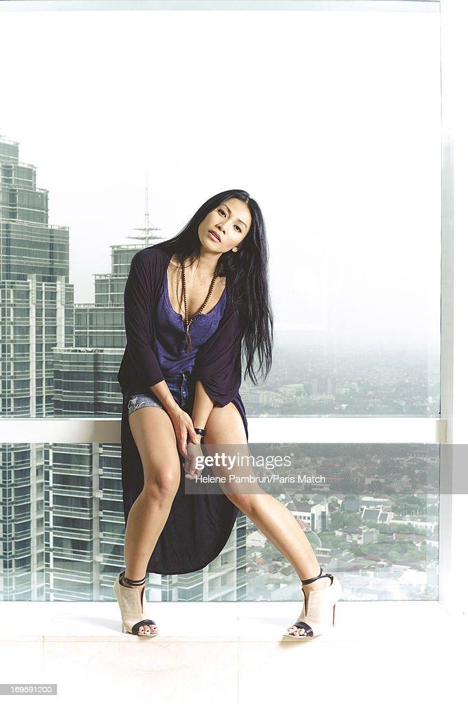Anggun, Paris Match, Issue 3340