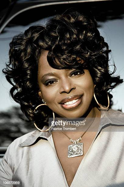 Singer Angie Stone photographed for Venice Magazine in 2007
