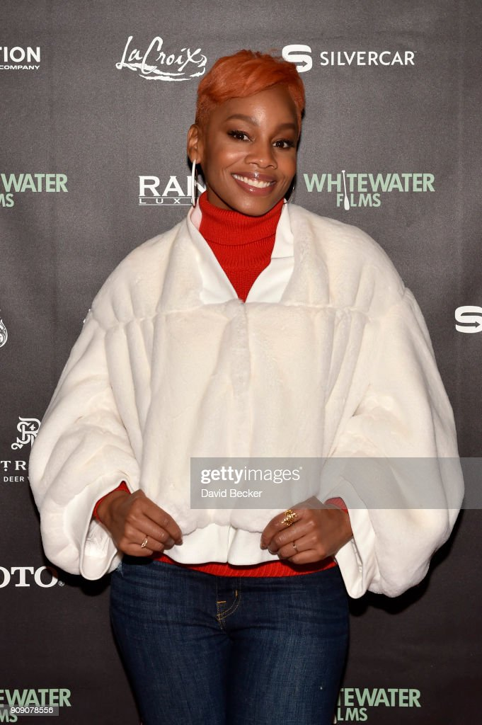 Singer Anika Noni Rose attends the Whitewater Films Reception At The RAND Luxury Escape - 2018 Park City at The St. Regis Deer Valley during the 2018 Sundance Film Festival on January 22, 2018 in Park City, Utah.