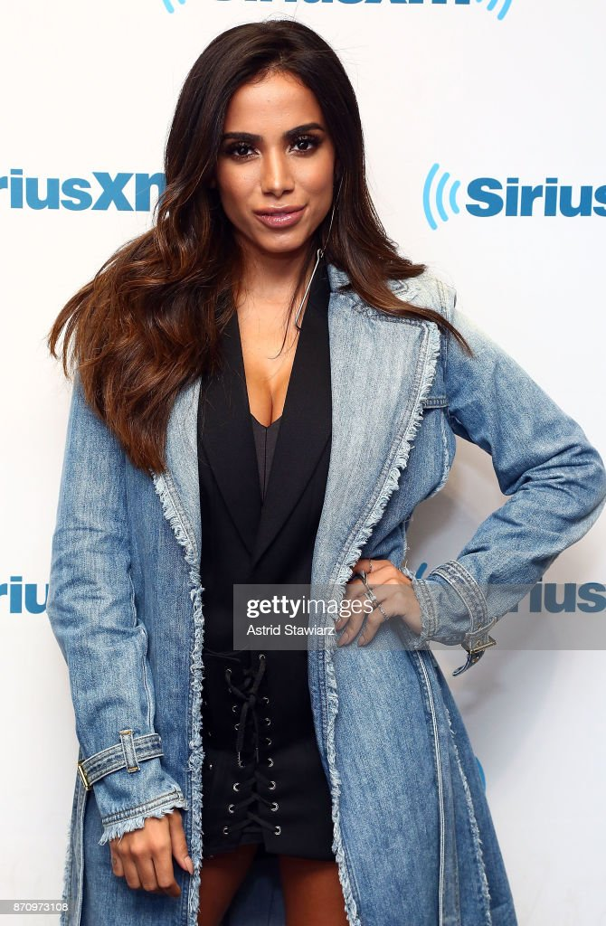 Singer Anitta visits the SiriusXM Studios on November 6, 2017 in New York City.