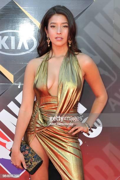 Singer Anjali Ranadive attends the 2018 NBA Awards Show at Barker Hangar on June 25 2018 in Santa Monica California
