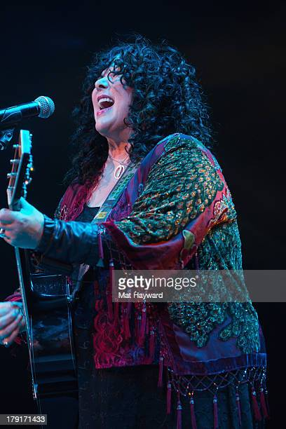 Singer Ann Wilson of Heart performs during the Bumbershoot Music Festival at Seattle Center on August 31 2013 in Seattle Washington