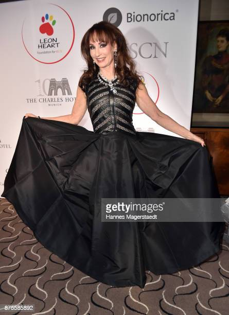 Singer Anna Maria Kaufmann during the Leon Heart Foundation charity dinner at Charles hotel on November 17 2017 in Munich Germany