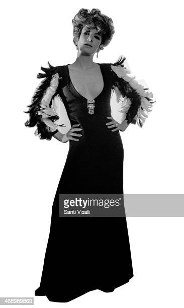 Singer Anna Moffo posing for a photo on April 10 1970 in New York New York