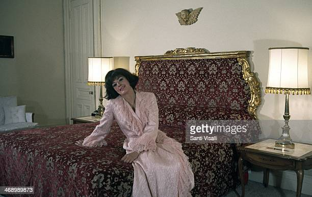 Singer Anna Moffo posing for a photo on July 7 1968 in New York New York