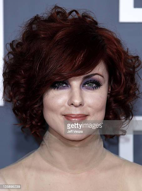 Singer Anna Nalick arrives at The 53rd Annual GRAMMY Awards held at Staples Center on February 13 2011 in Los Angeles California