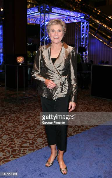 Singer Anne Murray attends the 2009 RBC Inductee Charity Ball at the Sheraton Centre Toronto Hotel on September 12 2009 in Toronto Canada