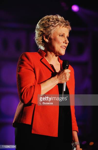Singer Anne Murray performs onstage during the 39th Annual Songwriters Hall of Fame Ceremony at the Marriott Marquis on June 19 2008 in New York City