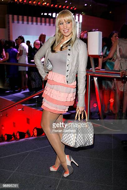 Singer Annemarie Eilfeld attends the 'OK Style Award 2010' at the british embassy on May 6 2010 in Berlin Germany