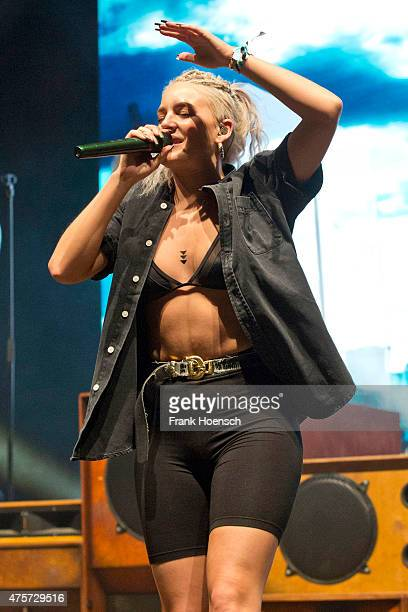 Singer AnneMarie Nicholson of the British band Rudimental performs live during Berlin Festival Day 3 at the Arena Treptow on May 31 2015 in Berlin...