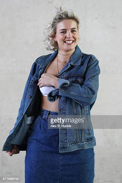 Singer AnneMarie seen leaving the BBC Radio 1 Studios on July 19 2016 in London England