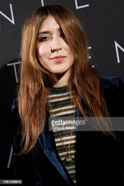 Singer Anni B Sweet attends the Winter Anthem Gala photocall at Circulo de Bellas Artes on December 18 2018 in Madrid Spain