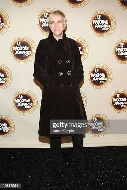 Singer Annie Lennox attends the 2007 mtvU Woodie Awards at the Roseland Ballroom on November 8 2007 in New York City