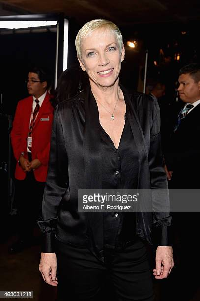 Singer Annie Lennox attends The 57th Annual GRAMMY Awards at STAPLES Center on February 8 2015 in Los Angeles California