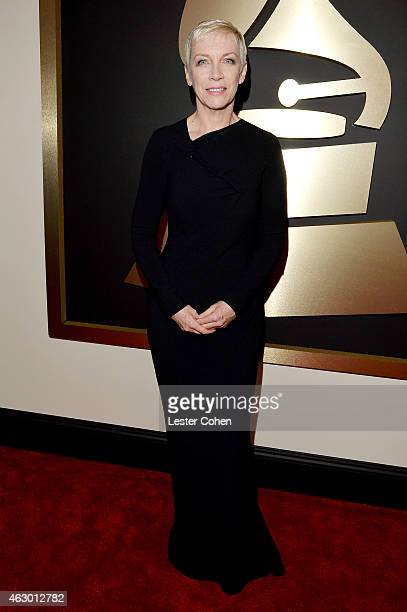 Singer Annie Lennox attends The 57th Annual GRAMMY Awards at the STAPLES Center on February 8 2015 in Los Angeles California