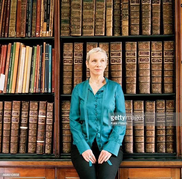 Singer Annie Lennox is photographed for the Sunday Times magazine on July 29 2011 in London England