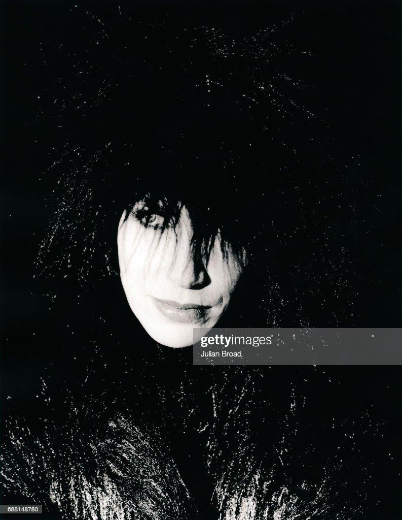 Annie Lennox, Julian Broad Portrait Archive. : Nachrichtenfoto