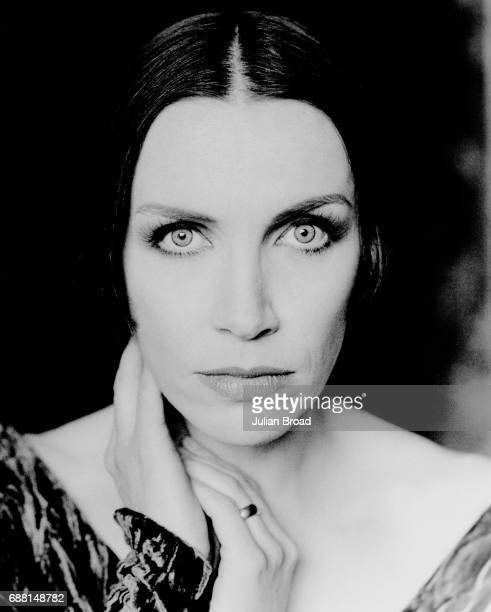 Singer Annie Lennox is photographed in 1993 in London England