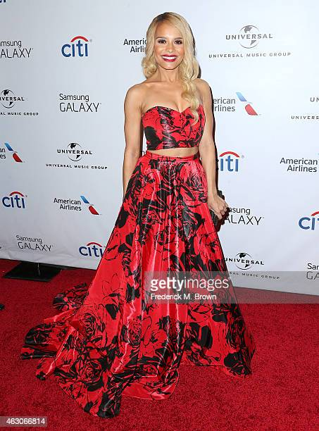 Singer Antanine Smith attends the Universal Music Group 2015 Post GRAMMY Party at The Theatre Ace Hotel Downtown LA on February 8 2015 in Los Angeles...