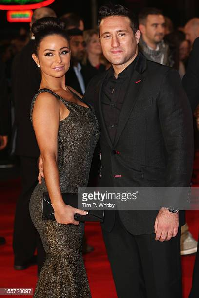 Singer Anthony Costa and guest attend the World Premiere of Gambit at Empire Leicester Square on November 7 2012 in London England