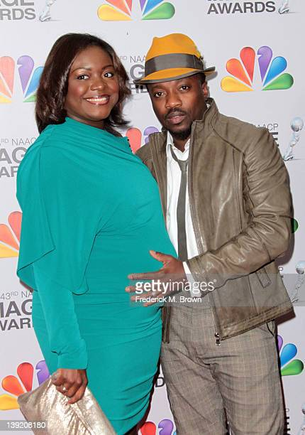 Singer Anthony Hamilton and his wife Tarsha McMillan arrive at the 43rd NAACP Image Awards held at The Shrine Auditorium on February 17 2012 in Los...