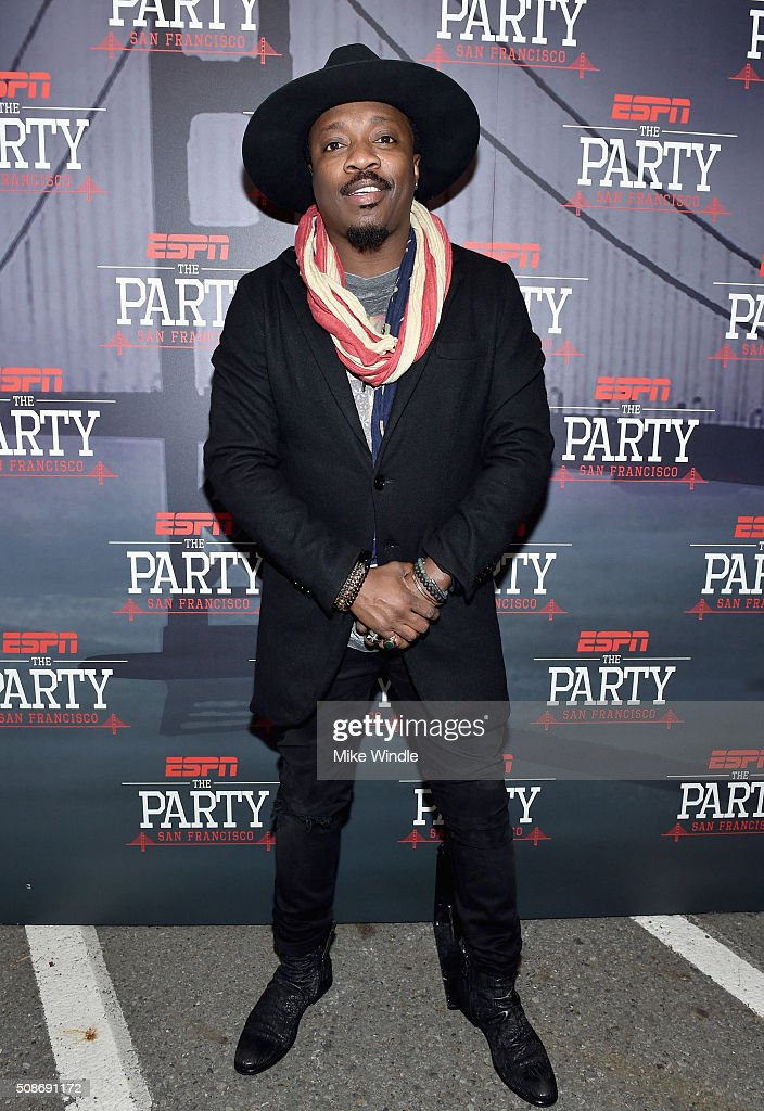Singer Anthony Hamilton attends ESPN The Party on February 5, 2016 in San Francisco, California.