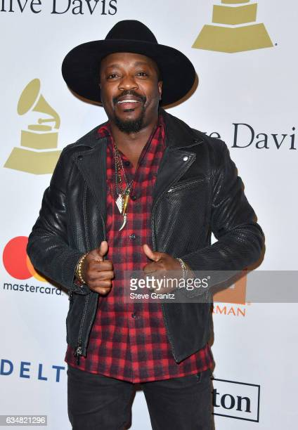 Singer Anthony Hamilton attends PreGRAMMY Gala and Salute to Industry Icons Honoring Debra Lee at The Beverly Hilton on February 11 2017 in Los...