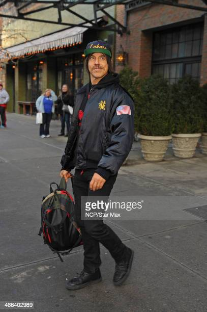 Singer Anthony Kiedis is seen on February 1 2014 in New York City