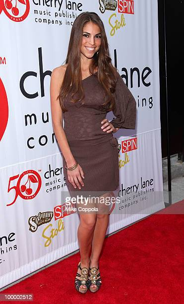Singer Antonella Barba attends Cherry Lane Music Publishing's 50th Anniversary celebration at Brooklyn Bowl on May 19 2010 in the Brooklyn borough of...