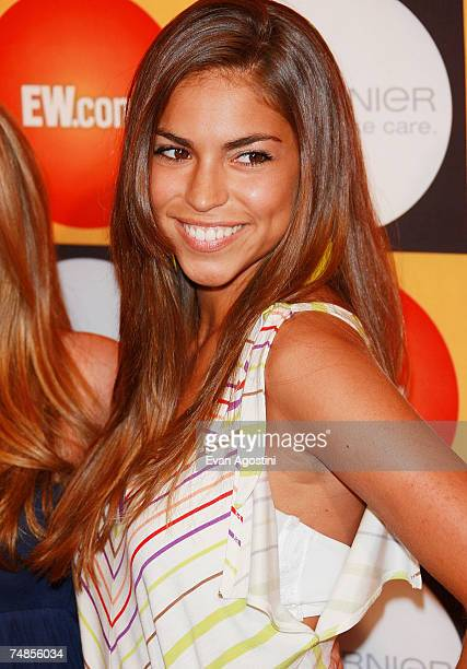Singer Antonella Barba attends Entertainment Weekly's Annual Must List Party at Gotham Hall June 21 2007 in New York City