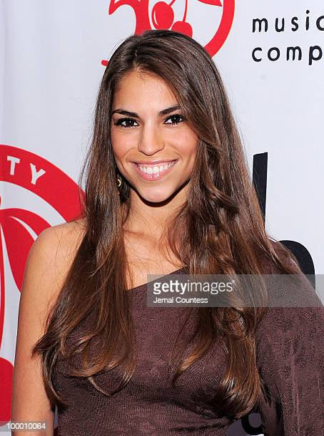 Singer Antonella Barba poses on the red carpet at the Cherry Lane Music Publishing's 50th Anniversary celebration at Brooklyn Bowl in Brooklyn on May...