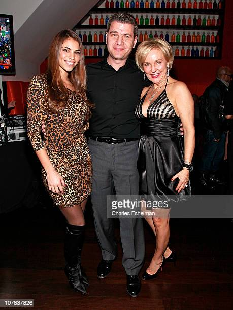 Singer Antonella Barba Tom Murro and Kim G of 'Real Housewives of New Jersey'attend Noel Ashman's New Year's Eve 2011 at Nuela on December 31 2010 in...