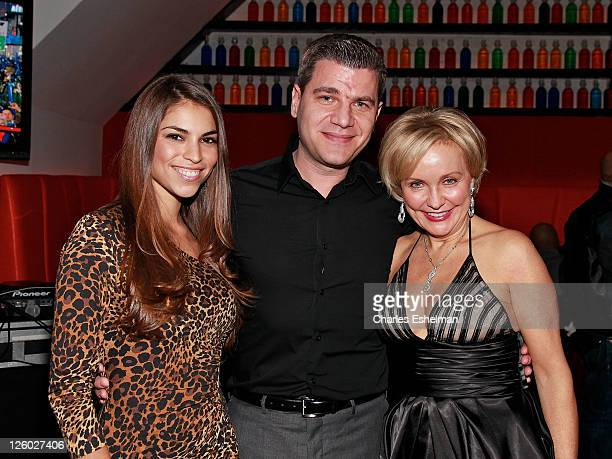 Singer Antonella Barba Tom Murro and Kim G of Real Housewives of New Jerseyattend Noel Ashman's New Year's Eve 2011 at Nuela on December 31 2010 in...