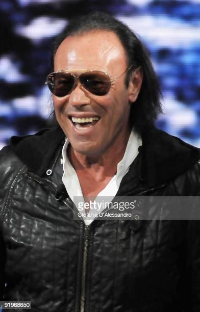 Singer Antonello Venditti attends 'Che Tempo Che Fa' Italian Tv Show held at Rai Studios on October 17 2009 in Milan Italy