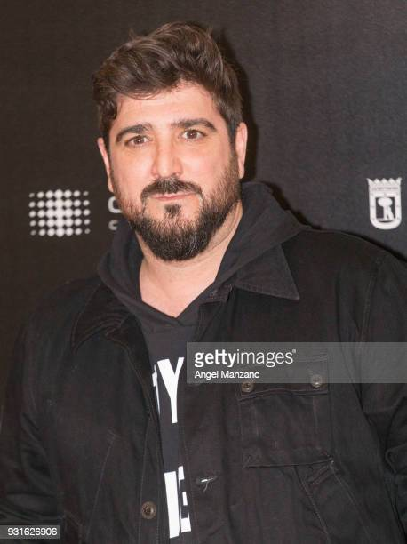 Singer Antonio Orozco attends 'The Best Day Of My Life' Madrid premiere at Callao cinema on March 13 2018 in Madrid Spain