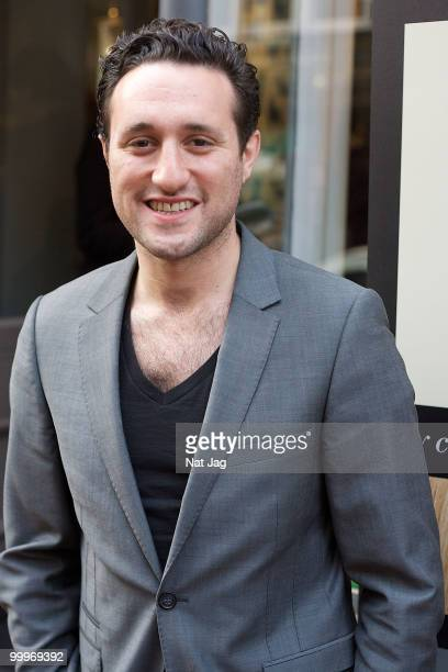 Singer Antony Costa attends the book launch for Andrew Barton's Shiny Happy Hair on May 18 2010 in London England