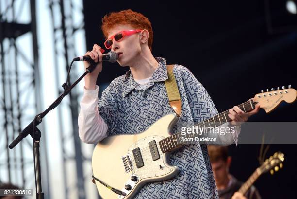 Singer Archy Marshall of King Krule performs onstage during FYF Fest on July 22, 2017 in Los Angeles, California.